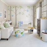 светлая детская комната в скандинавском стиле