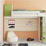 красивая детская кровать чердак в дизайне комнаты пример