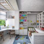 дизайнерская детская спальня в стиле лофт фото дизайна