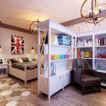 дизайнерская детская комната в дизайне лофт фото дизайна