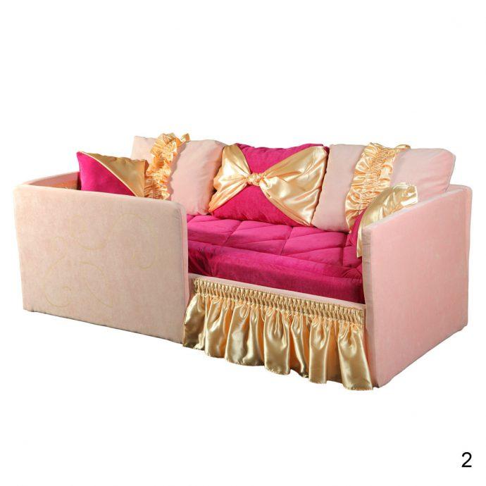 большая диван кровать для ребенка в комнате фото пример
