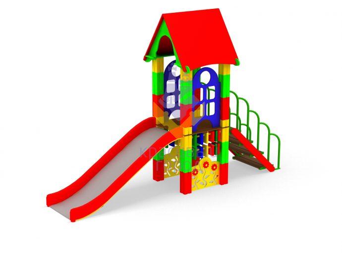 цветная горка для детей вертикальная для развлечений