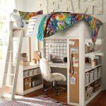красивая кровать чердак в детскую фото дизайна