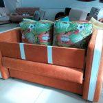 красивая кровать диван для ребенка в спальне пример фото