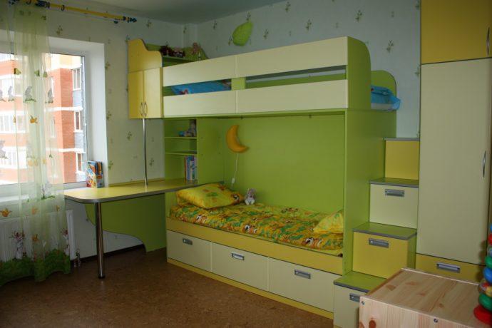 Детские двухъярусные кровати в интерьере. Фото, примеры и советы