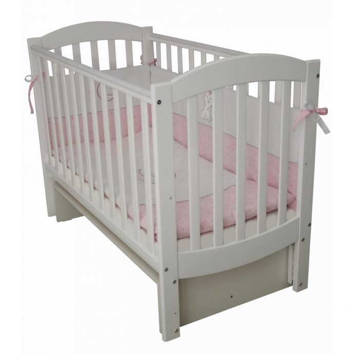 красивая детская кроватка трансформер маятник для мальчика