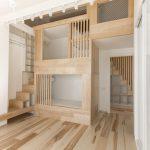 большая детская спальня в лофт стиле фото дизайна