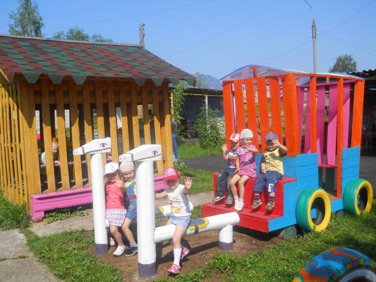 Постройки в детском саду на участке своими руками фото 3