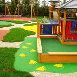 необычный детская площадка для ребенка из дерева