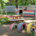 красивый детская площадка для ребенка своими руками