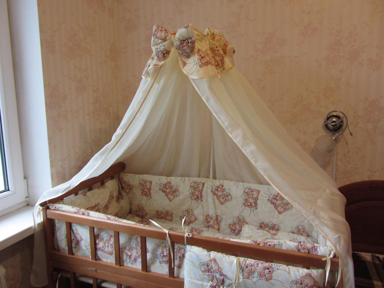 Детские балдахины на кроватку своими руками фото 631