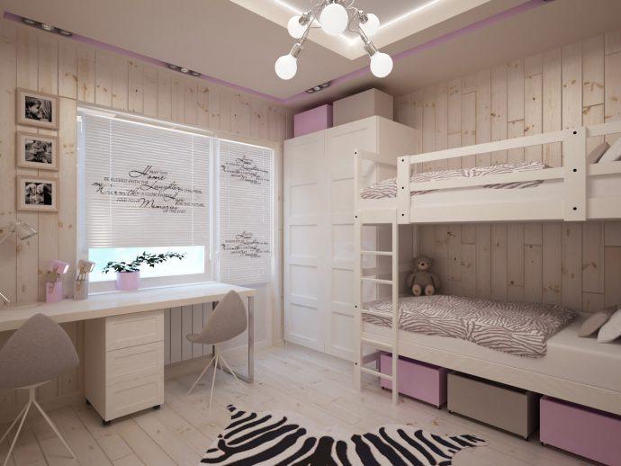 чудесная детская комната для девочки