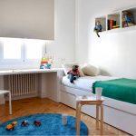 цветная мебель для мальчика в детскую комнату дизайн