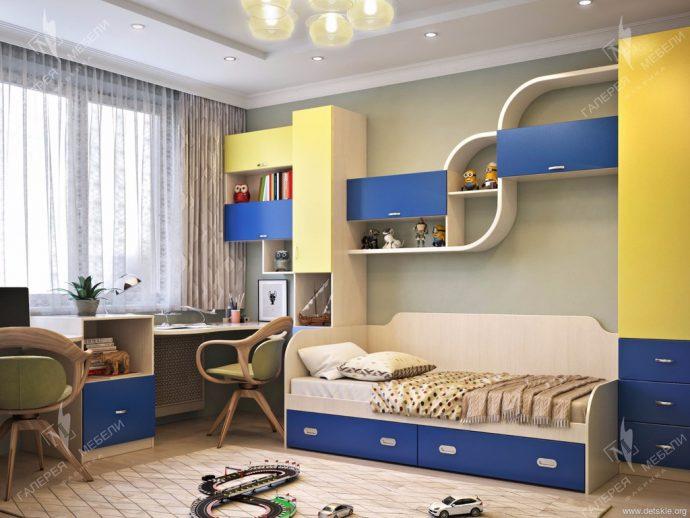 красивая детская мебель в спальню для девочки фото дизайна