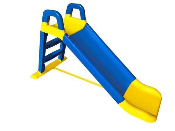 большая детская горка вертикально установленная для развлечений