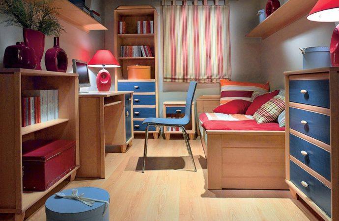 красивая детская мебель для мальчика в детскую комнату
