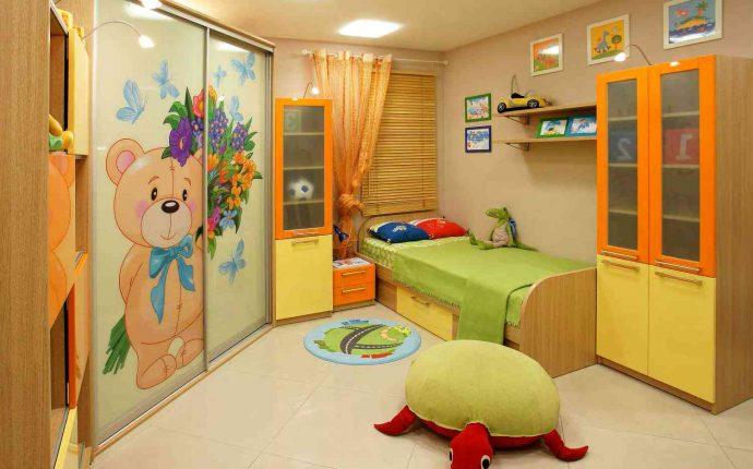 раздвижной шкаф купе в детскую