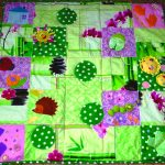 цветной развивающий коврик со зверьками фото