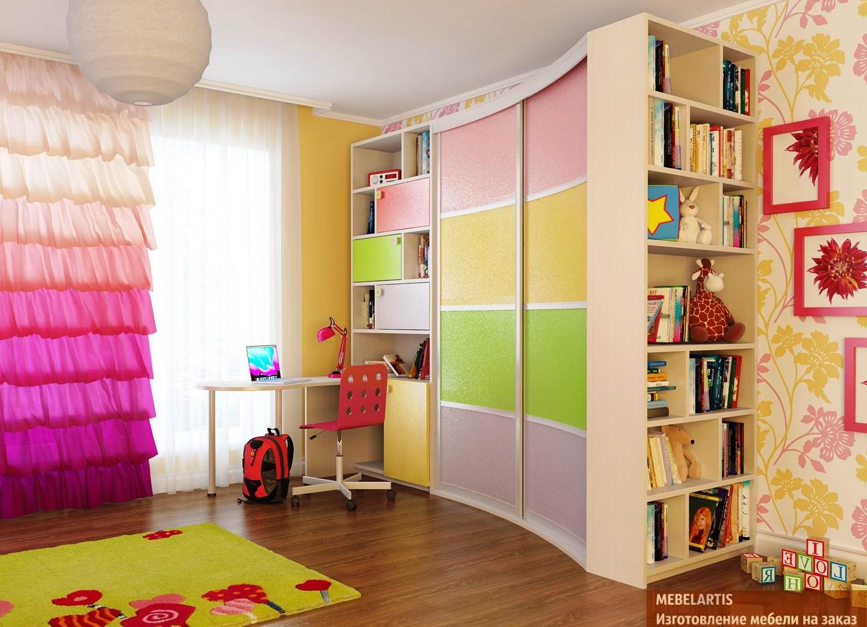 Шкафы купе в детскую комнату - недорого в костроме.
