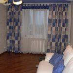 цветные шторы в детскую комнату в интерьере комнаты картинка