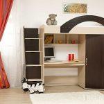 качественная кровать детская из подручных материалов дизайн фото интерьера