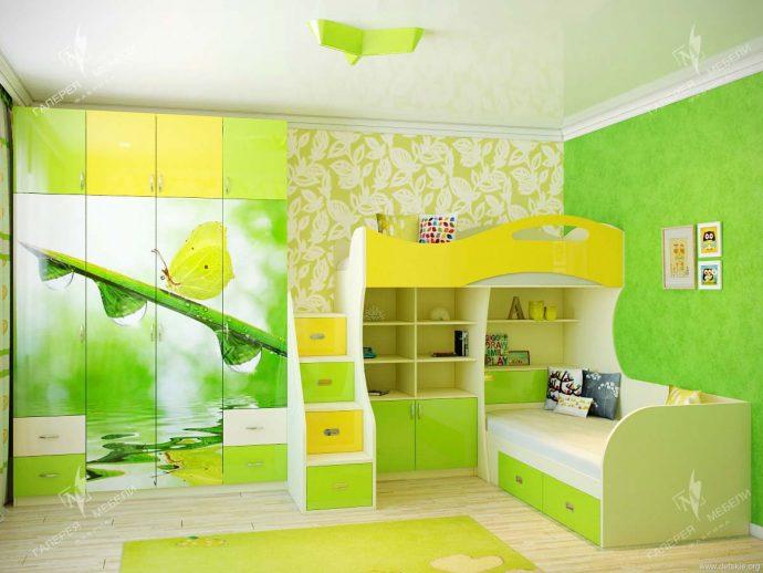 решение комнаты для детей для двойняшек