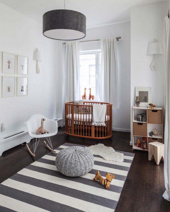 интерьер детской комнаты в скандинавском стиле