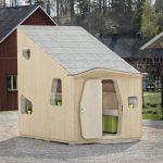 пример детского домика из дерева для дома