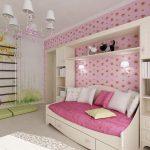 дизайн детской комнаты в светлом стиле