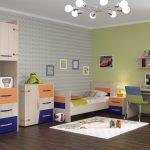 интерьер комнаты в мультяшном стиле