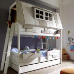 сборка детской кроватки трансформера с выдвижным комодом
