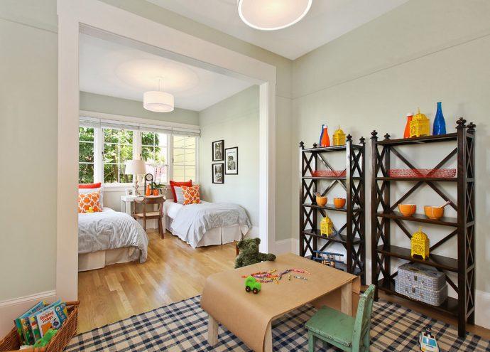 яркая комната детская для двоих мальчиков дизайн