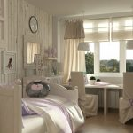 большая спальня в лофт стиле фото интерьера