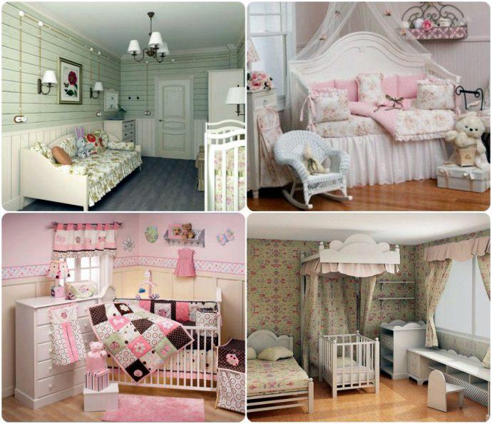 светлая детская комната в лофт стиле