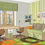 дизайнерская детская спальня для двух мальчиков дизайн фото