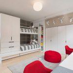 пример интерьера детской спальни для пары детей