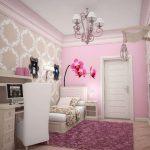 красивая детская спальня для девочек дизайн