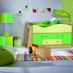 красивая детская кроватка чердак в детскую фото дизайна