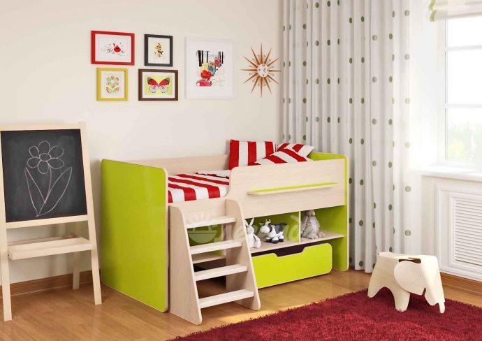 двухъярусная кровать чердак в интерьере комнаты фото дизайна