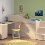 красивая детская кровать чердак в детскую фото дизайна