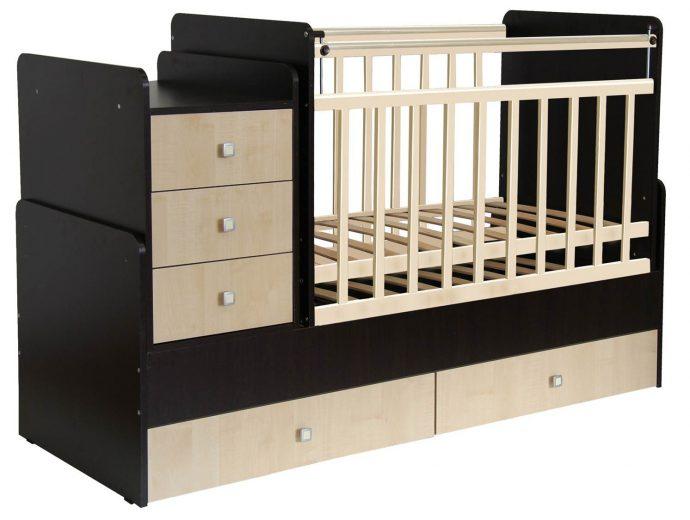 большая кровать трансформер для ребенка