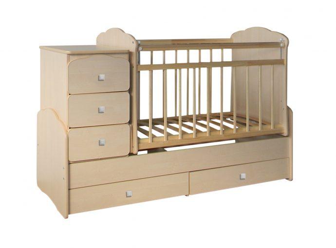 функциональная кроватка трансформер для малыша