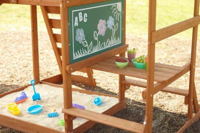 площадка с песком для детей во дворе своими руками