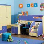 дизайн детской комнаты в необычном стиле