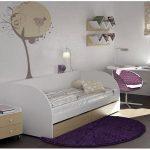 дизайн детской кроватки трансформера с комодом