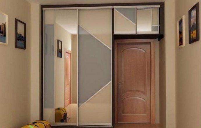 пример шкаф в комнате
