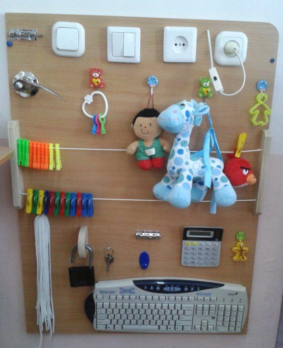 Развивающий центр для ребёнка своими руками 26