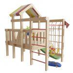 красивый детская площадка для детей из дерева