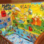 красивый развивающий детский коврик с машинками картинка