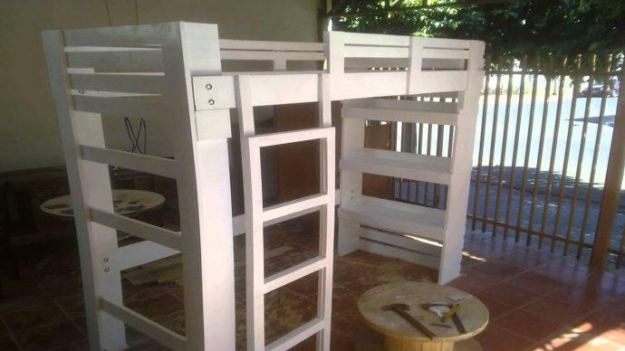 качественная кровать детская из подручных материалов дизайн фото